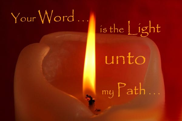 BLOG PIC YOUR WORD IS A LIGHT
